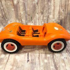 Vintage W. Germany Sand Buggy Orange Plastic Barbie Doll Toy Race Sports Car