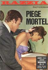 Roman Photo petit format - RAZZIA n° 3 : PIEGE MORTEL