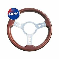 "13.5"" DeLuxe traditional woodrim steering wheel for with 3 spokes 353SPW/LX"