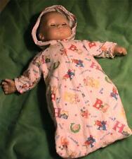 Hooded  Sleep Bag for Baby Dolls