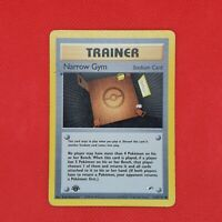 Narrow Gym 124/132 1st Edition Rare Gym Heroes Non Holo WOTC Pokemon Card