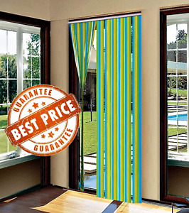 NEW PVC Door Strip Curtain Stop Flying Insect Mosquito Bug Blinds Screen Flies