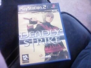 PS2 - DEADLY STRIKE COMPLETE PAL UK GAME