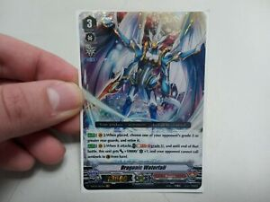 Cardfight Vanguard - Dragonic Waterfall Trading Card - Excellent Condition