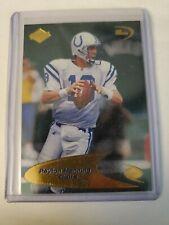 Peyton Manning 1998 Odyssey 3Q Rookie Card