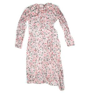 Isabel Marant - New - Elka Dress - Floral Long Sleeve 2019 Runway - US 4 - 36