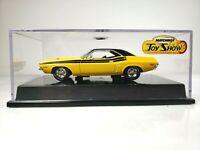 Rare Matchbox 2004 Hershey Toy Show 1971 Yellow Dodge Challenger R/T Showcar