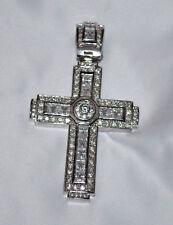 Cross Pandant Silver Color