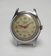 Vintage 1950's Livano 21 jewel military type Watch wristwatch W 62
