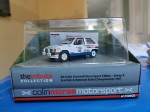 Corgi VA11401 Colin McRae Tribute Collection Vauxhall Nova Sport 1300cc S&NRC