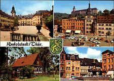 Rudolstadt Thüringen DDR Mehrbild-AK ua. Heidecksburg, Volkskunde-Museum uvm.