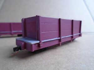 On18 14 Foot gondola Kit 2 Pack by Railway Recollections not On30