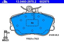 Bremsbelagsatz Scheibenbremse - ATE 13.0460-2975.2