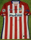 Torres KOKE Saul Atletico de Madrid player issue & Signed PROOF shirt Final CL