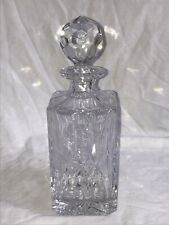 Vintage Crystal Square Whiskey Decanter  Vsd201.