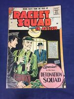 Racket Squad #28  Crime Detonation Charlton Comics 1958