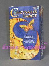 CHRYSALIS Tarot Card Deck - by Sierra & Brooks - NEW Divination
