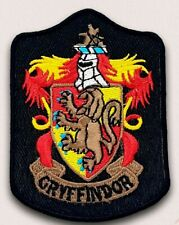 Harry Potter Gryffindor Long Iron Sew on Embroidered Patch applique #581