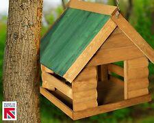 Wooden Hanging Fordwich Garden Bird House Green 🇬🇧 Made in Great Britain🇬🇧