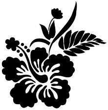 This is a flower die cut vinyl sticker or decal. Great for Car or laptop!!