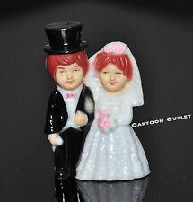 12 PCS BRIDE AND GROOM WEDDING COUPLE FIGURES RECUERDOS DE BODA CUPCAKE TOPPERS