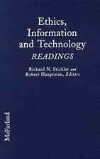 Ethics, Information and Technology: Readings-ExLibrary