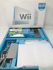 Nintendo Wii Sports White Home Game Console 100% Complete in Box CIB - VERY GOOD