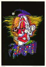 FREE SHIP    #BL2    RP64 R LOT OF 2 POSTERS BLACK LIGHT PSYCHEDELIC ZOOP