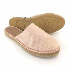 Kensie Women's Espadrille Slip On Sandal Blush Pink Size 7 M US