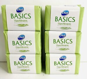 12 Bars DIAL Basics HypoAllergenic Soap Dermatologist tested 3.2oz