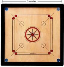 Wooden Carrom Board Game with Coins & Striker Carom FREE SHIPPING