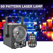 RGB LED Discokugel Ball Laser Projektor Licht Bühnenlicht DJ Party Xmas Light DE