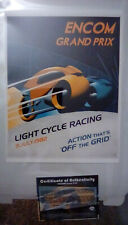 Steve Thomas TRON Encom poster, numbered Artist Proof out of 15 Light Cycles!