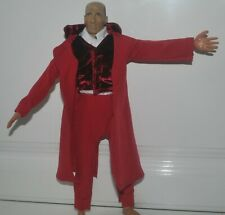 "Burgundy Outfit for 1/6 scale 12"" action figure man. Dragon BBI Hot Toys"