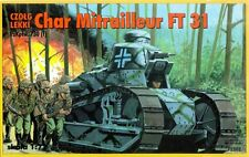 RENAULT FT-31 (FT 17 MLE.1931)  (FRANCAISE & ALLEMANDE DECORATION) 1/72 RPM
