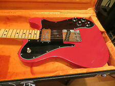 Fender Custom Shop Custom Telecaster 1972 Reissue Closet Classic Dakota Red 2013