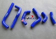 blue for HONDA CRF450 CRF450R CRF 450 R 2002-2004 03 silicone radiator hose