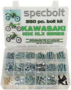 Specbolt Kawasaki KDX Bolt Kit 200 220 225 250 KDX200 KDX220 KDX225 KDX175 KDX80