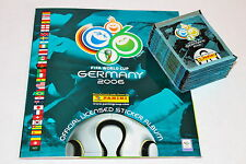 Panini WC WM Germany 2006 06 – 50 Tüten packets sobres + Leeralbum empty album