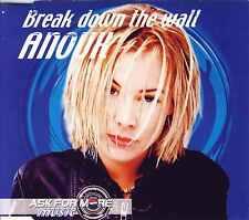 ANOUK - Break down the wall CDM 4TR (incl. CD-rom / photos) 2000 ROCK PEPSI RARE