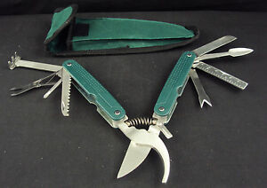 Multi-Tool Pruner ~ 9-in-1 Function For Gardening, Floral, Camping, Hunting