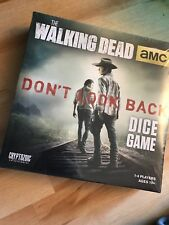 Cryptozoic The Walking Dead Don't Look Back Dice Board Game NEW Sealed!