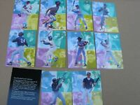 Fleer Ultra 1993 Ultra Performers Baseball Card Subset 1-10 - NM-MT+