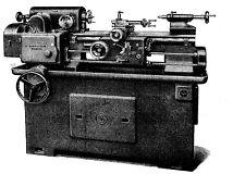 Drehmaschine Schaublin SV 120 VM  Bedienungsanleitung