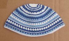 Blue Frik Yarmulke Freak Jewish Kippah Kippot Kipah Knitted Judaica 14X24cm KIPA