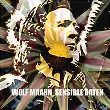 WOLF MAAHN / SENSIBLE DATEN * NEW DIGIPACK CD * NEU *