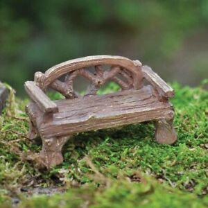 Miniature Garden Bench for Fairy Garden or Dolls House by Fiddlehead