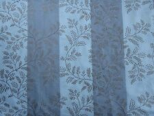 """ZOFFANY CURTAIN FABRIC """"Dixie Fern"""" 3.8 METRES CALICO AND PALE MAUVE EMBROIDERED"""