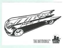 The Adventures Of Batman & Robin Coloring Card C9 The Batmobile Skybox 1995 Good