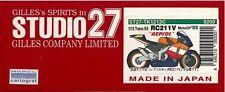 "STUDIO27 1/12 Trans Kit 1/12 HONDA RC 211V ""REPSOL"" Moto '03"